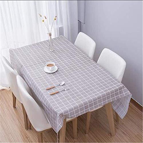 Zhuo Qun Shang Mao Kurze Plaid Muster Tisch Tuch Rechteckigen wasserdichte Wachstuch Tischdecke Home Küche Tisch Dekoration -