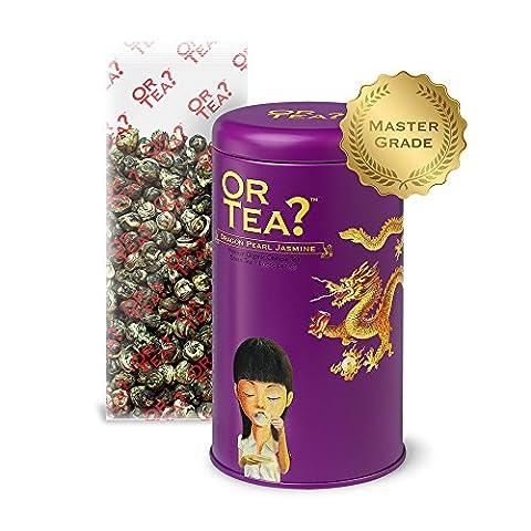 Or Tea Organic Dragon Pearl Jasmine Tin