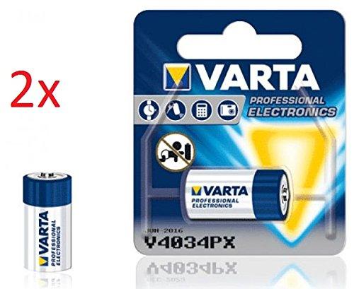 Preisvergleich Produktbild VARTA FOTO BATTERIEN PHOTOZELLEN FÜR KAMERAS UND FOTOAPPARATE / 2CR5 / CR-P2 / V28PX - V28PXL / CR-V3 / V74PX - V76PX / V4034PX / CR-1-3 / CR123A / CR 2 NEU & OVP IM EINZELBLISTER (V4034PX, 2 Stück)