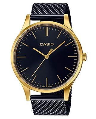 Casio Reloj Analogico para Mujer de Cuarzo con Correa en Acero Inoxidable LTP-E140GB-1AEF