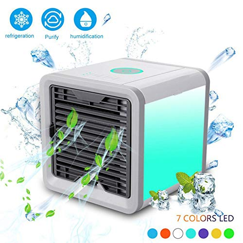 ZHANGBXSKT Tragbare Mobile Klimaanlage Mini Portable Air Conditioner Fan Personal Space Cooler The Easy Way to Cool Any Home Office Desk Space -