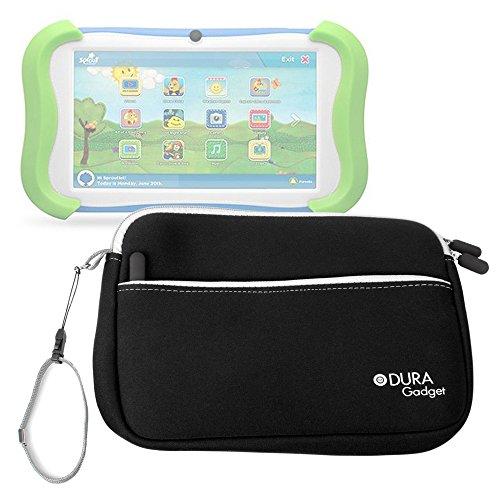 Cubby Schwarz (DURAGADGET Neopren-Reisetasche für Sprout Channel Cubby 7 Zoll Tablet 16 GB)
