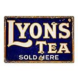 BNTN Lyons Tea Vintage Retro Tin Sign Metal Sign Metal
