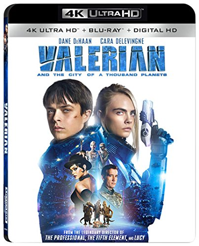 Valerian and the City of a Thousand Planets [USA] [Blu-ray]