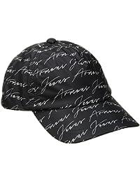 Armani Jeans | 934052 Signature Black Baseball Cap