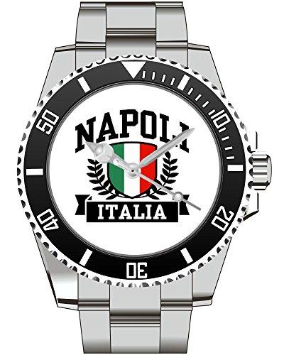 Italien Napoli Geschenk Fan Artikel Zubehör Fanartikel Uhr 2637