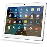 YUNTAB Tablet 10.1 Zoll Tablet Pc - 3G - Android 5.1 Lollipop - QUAD CORE-Telefonieren - GPS- Navigation - 1GB RAM - 16GB - Dual Kamera( Real Kamera 2 Mps) - Battery 5000 mhA - Bluetooth 4.0 (MSilber)