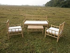 bambus gartenm bel gartenset balkonm bel balkonset sitzgarnitur holzm bel outdoor. Black Bedroom Furniture Sets. Home Design Ideas