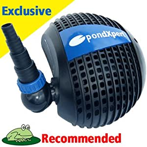 Pondpush 17000 Garden Pond Pump For Pond Filters