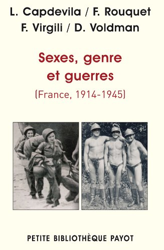 Sexes, genre et guerres (France 1914-1945)