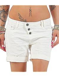 e382d53ba8e7cf Bevalsa Damen Bermuda Shorts Sommer Lässige Kurze Hose Hotpants Strand  Shorts Damenhosen Freizeit Shorts Mode Streetwaer