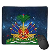 Starry Haitian Embassy Customized Rectangle Non-Slip Rubber Mousepad Gaming Laptop Mouse Pad Mousepad Anti-Slip Mouse Pad Mat Mice Mousepad Desktop Mouse Pad 18 cm X 22cm