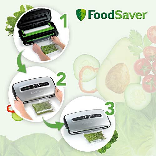 FoodSaver FFS016X Folienschweißgerät / Vakuumierer / Vakuumiergerät - 3