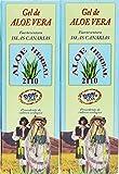 Aloe Herbal 2110Gel Aloe Vera 99% 250ml x 2morceaux