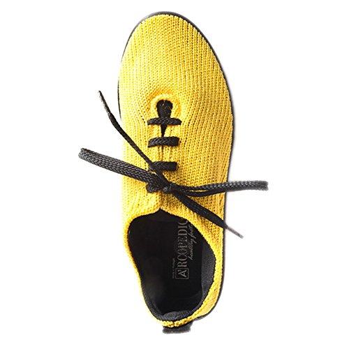 ARCOPEDICO Donna LS 1151Tessuto Scarpe Yellow