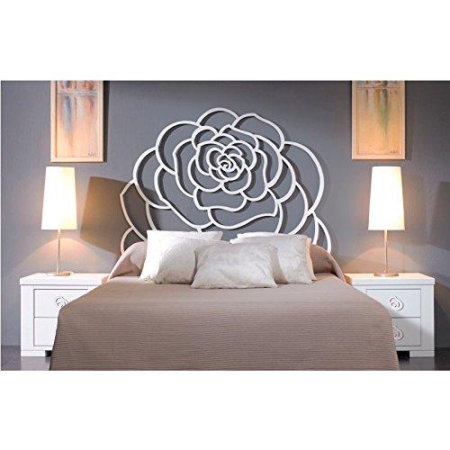 HOGARES CON ESTILO - Cabecero de Forja nacional modelo TRENTINO para una cama de 150 cms. (Varios colores y medidas disponibles).