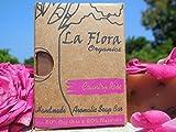 Country Rose aromatic handmade soap bar-...