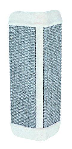 Tabla Rascadora para Esquina, 32×60 cm, color gris claro