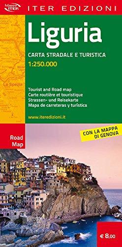 Liguria. Carta stradale e turistica 1.250.000 (Carte stradali)