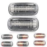 2 X LED Blinker Seitenblinker Blinkleuchte Dynamisch Laufblinker Kotflügel-Blinker mit E-Prüfzeichen V-170811LG