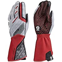 Sparco 00255208RS Guantes, Rojo, 08