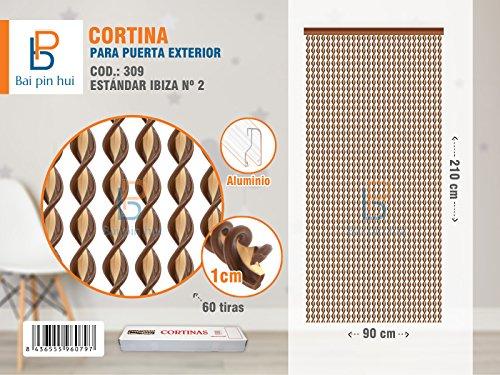 BAI PIN HUI COD.309 Cortina para puerta exterior