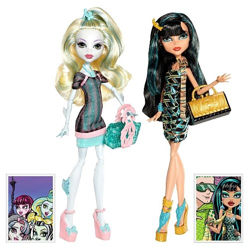 Monster High Scaris Exclusive 2-Pack Lagoona Blue & Cleo De Nile (Monster High Zieht)