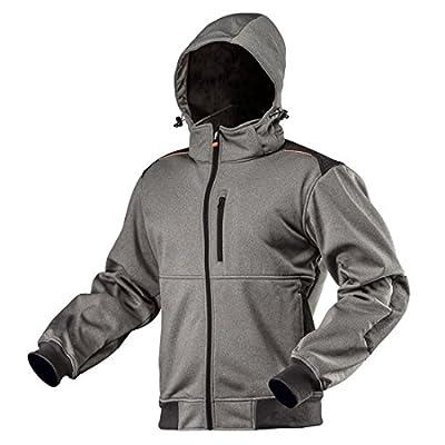 Softshelljacke grau Winter Wasserdicht Softshell Jacke Freizeitjacke Arbeitsjacke Outdoor Outdoorjacke Sicherheitsjacke Wanderjacke