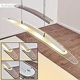 LED Pendelleuchte Tabara Hängelampe für den Wohnbereich an der Lampe dimmbar über integrierten Dimmer