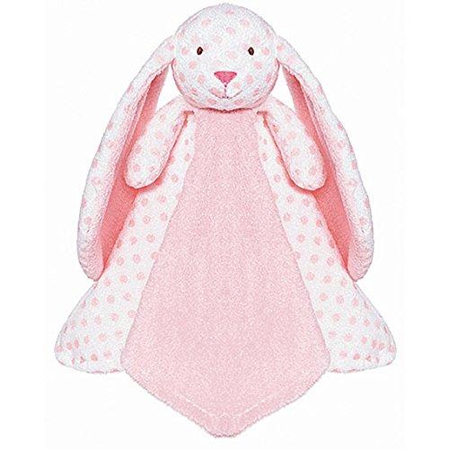 Teddykompaniet - Big Ears Kaninchen Rosa Sicherheitsdecke 33 x 33 cm