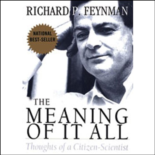 The Meaning of it All  Audiolibri
