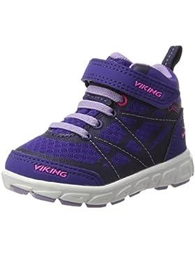Viking Veme Mid El/Vel - Zapatillas de deporte Niñas