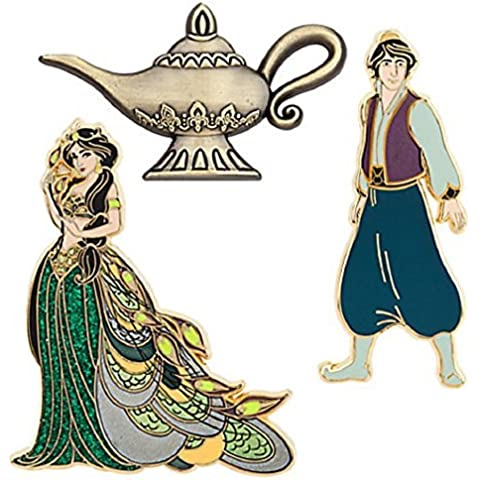 Disney D23 The Art of Jasmine Limited Edition Pin Set by Disney