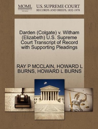 darden-colgate-v-witham-elizabeth-us-supreme-court-transcript-of-record-with-supporting-pleadings