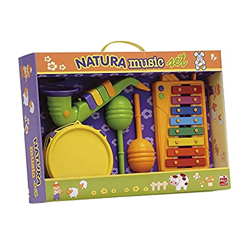 Reig - 220 - Instruments De Musique - Set Xylophone, Tambour, Saxophone Et Maracas