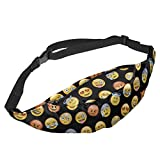 Unisex Belt Bum Bag Waist Money Pouch Travel Wallet Zip Bag Running Travel Sport Funky