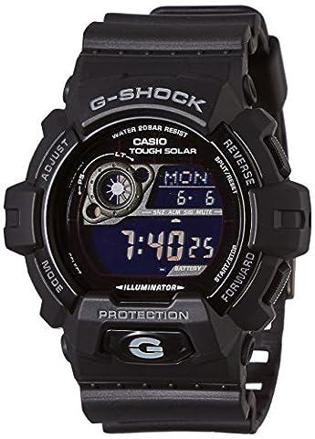 Casio Herren Armbanduhr G-Shock Solar-Kolletion Digital Quarz Schwarz Resin Gr-8900A-1Er