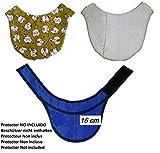 Couverture Colliers thyroïdiens de protection RX pour la radiologie. 16 cm environ. Personnalisé avec votre nom. Zone intérieure de serviette épaisse...