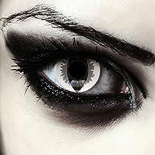 f9fdb10b9d288 Lentillas de colores gris para Halloween costume ojo de gato   dragón  lentes de tres meses