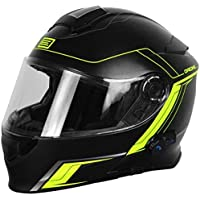 Origine Helmets - Casco de moto con visera frontal abatible - Bluetooth integrado - Modelo Origine