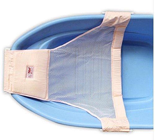 Angebébé-Hamaca con soporte para bañera de bebé amarillo claro