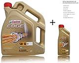 1 L + 5 L = 6 Liter Castrol Edge Titanium FST™ 5W-30 C3 Motor-Öl