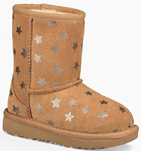 Bottine, Couleur Marron, Marque UGG, Modã¨Le Bottine UGG Classic Short II Stars Marron