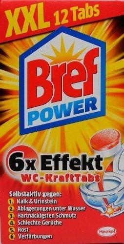 Bref Power Kraftpaket 12Tabs WC-Reiniger