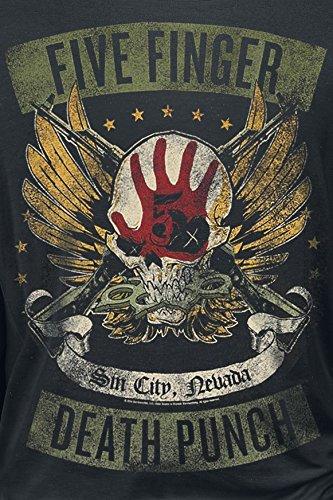 Five Finger Death Punch Wicked Manica Lunga Nero Nero