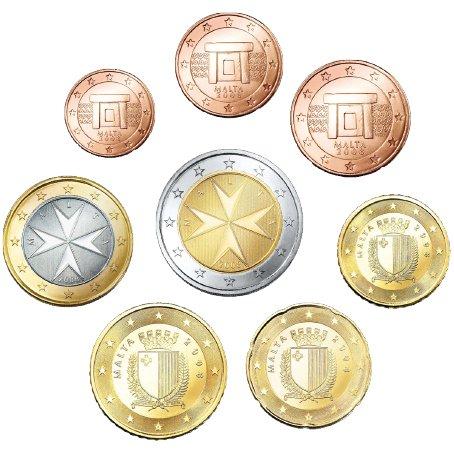 malta-euro-mnzsatz-sueltas-1-cntimo-2-euros8-monedas