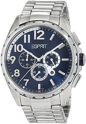 Esprit ES1COF2E6149.L56 - Reloj de pulsera hombre, Acero inoxidable, color Plateado