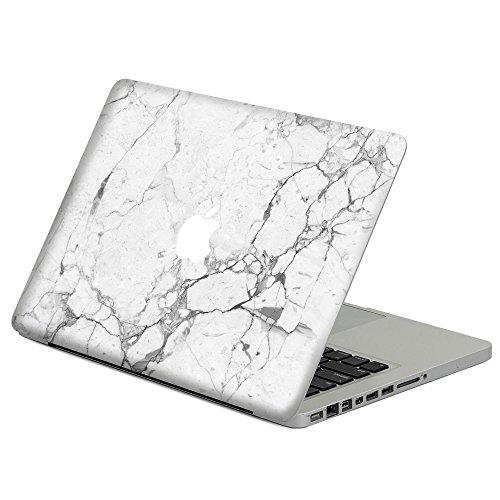 Macbook Aufkleber,Caroki Marmor Stil Super dünn Abnehmbare Aufkleber Skin Abziehbilder für Apple MacBook Pro 13