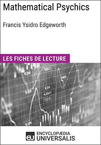 Mathematical Psychics de Francis Ysidro Edgeworth: Les Fiches de lecture d'Universalis