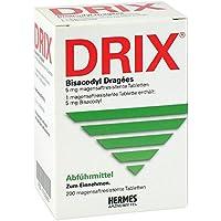 Drix Bisacodyl-Dragees 200 stk preisvergleich bei billige-tabletten.eu